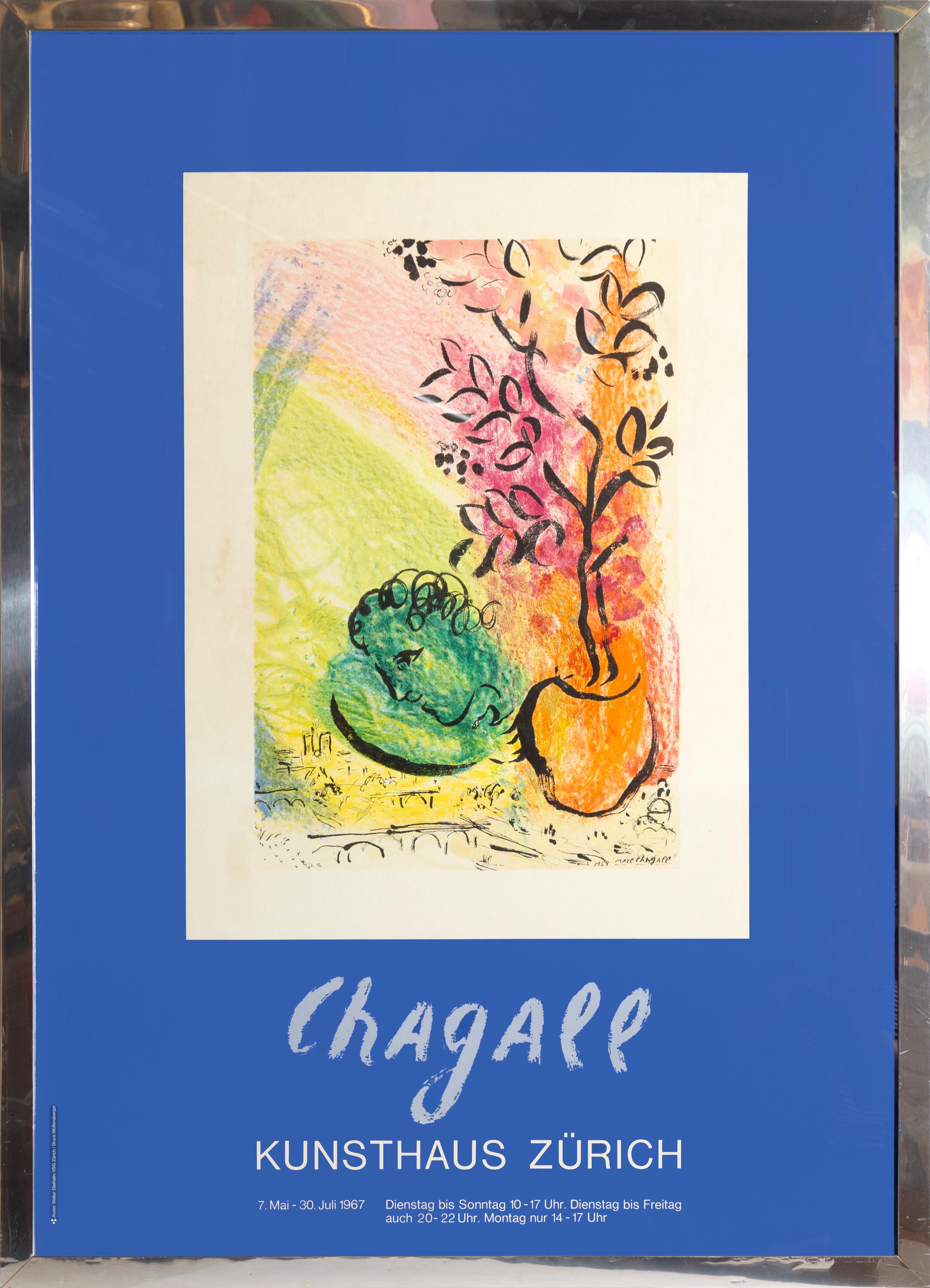 Chagall at Kunsthaus Zurich, 1967