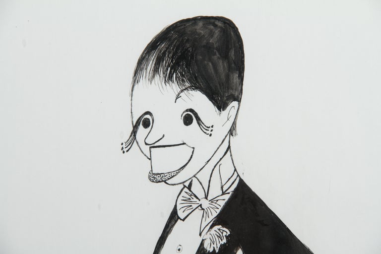 Liza Minnelli from Victor/Victoria, Drawing by Al Hirschfeld - Art by Albert Al Hirschfeld