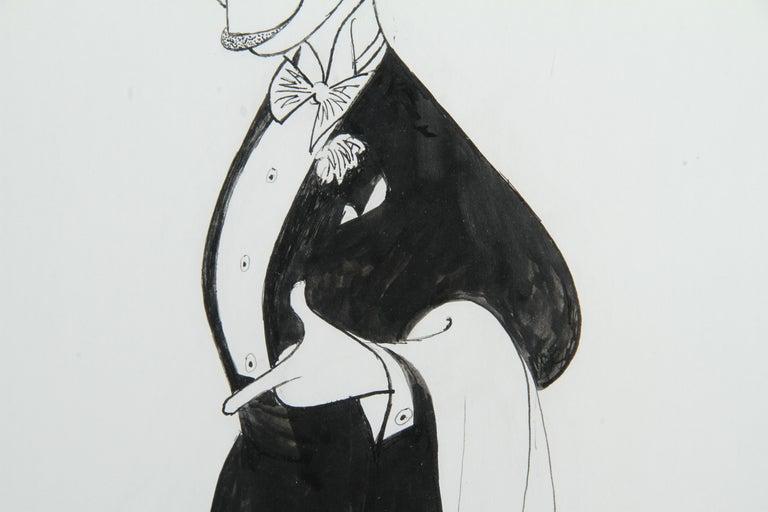 Liza Minnelli from Victor/Victoria, Drawing by Al Hirschfeld - Contemporary Art by Albert Al Hirschfeld