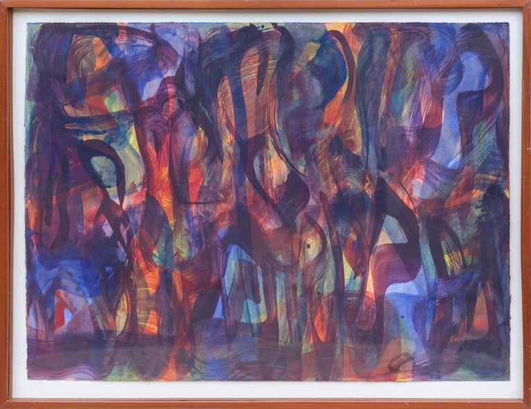 Melissa Meyer Abstract Painting - Abstract Expressionist Encaustic Painting
