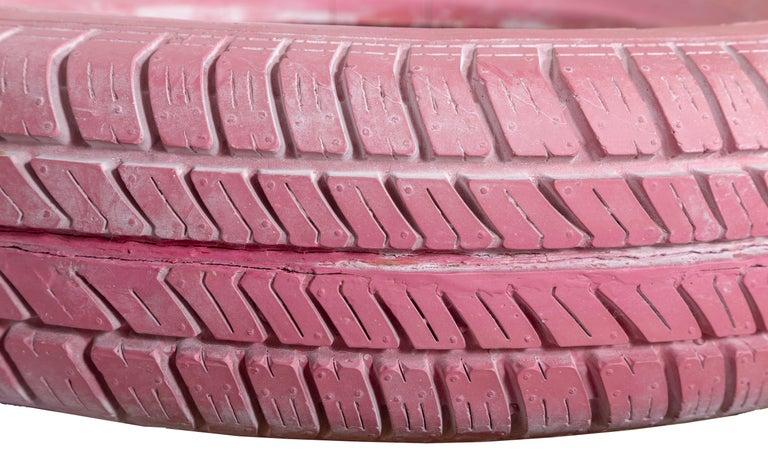 De Tuti Fruti, Pink Tire Sculpture For Sale 2