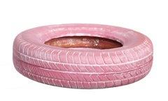 De Tuti Fruti, Pink Tire Sculpture