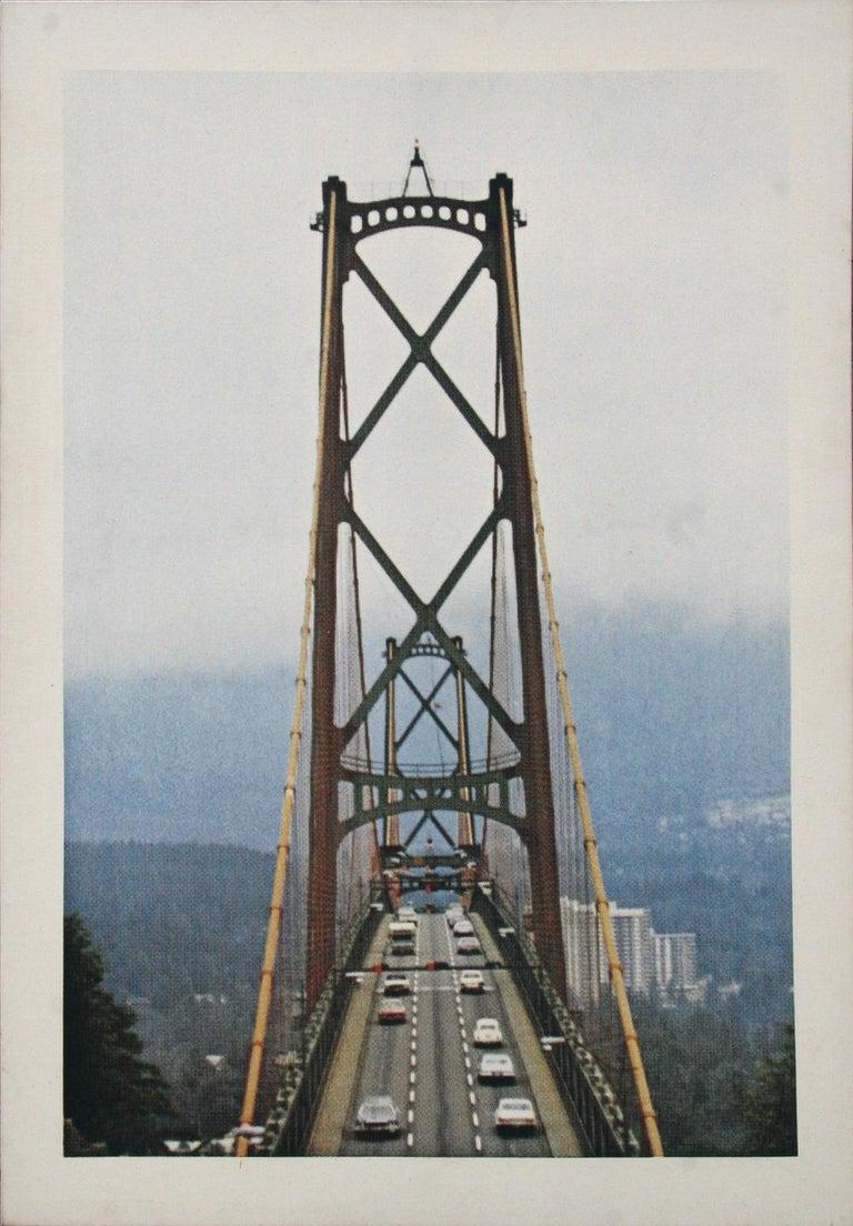 Larry Stark  Landscape Print - Bridge
