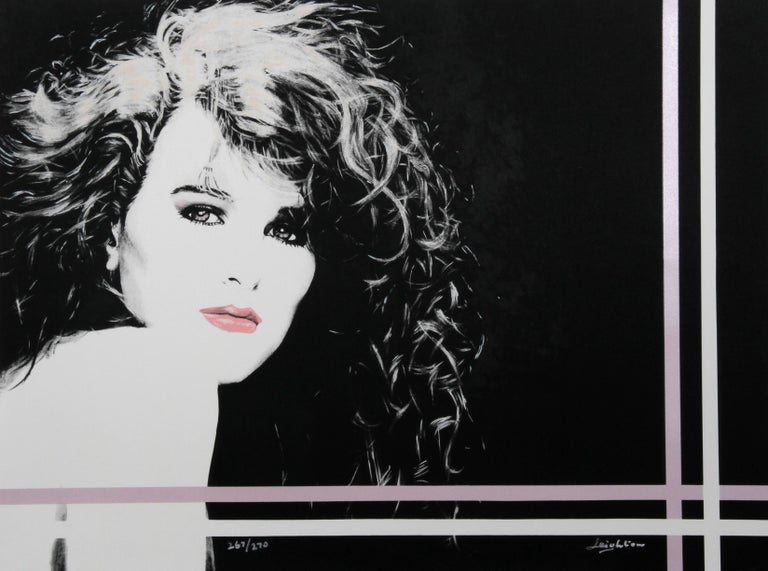 Dan Leighton Portrait Print - Sheri