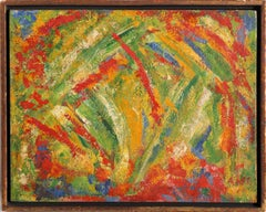 Landscape, Abstract Expressionist Painting 1957