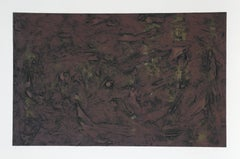 Abstract Expressionist Monotype by Pat Passlof