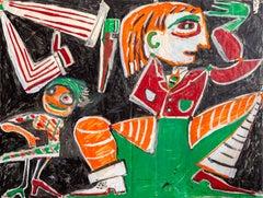 Debonair Disco, Pop Art painting by George McNeil