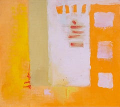 Abstract Expressionist painting by Maud Morgan c1960