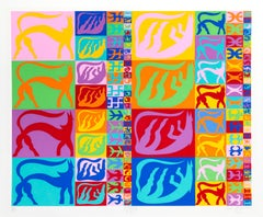 Erosore 4 to 1, Pop Art Screenprint