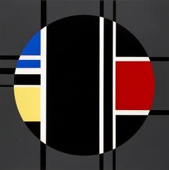 De Stijl Geometric Abstract by Jean Gorin 1970