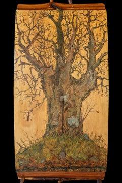 Oldest Tree on the Lockie Road, Rossie New York