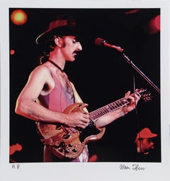 Frank Zappa on the Gibson SG