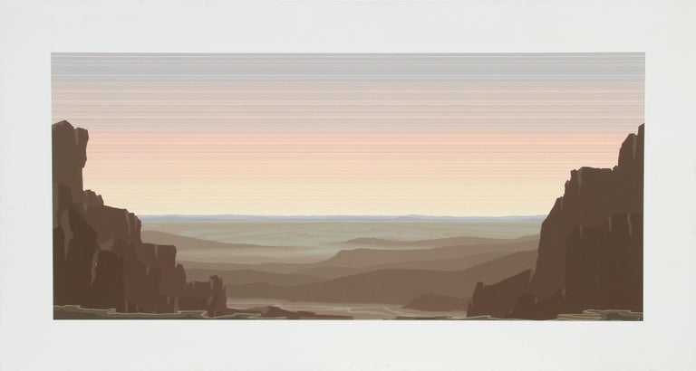 Jerry Schurr Landscape Painting - The Great Valley