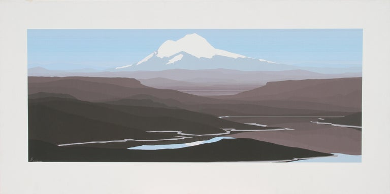 Jerry Schurr Landscape Painting - Mt. Baker