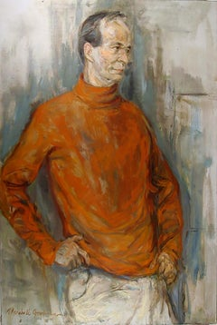 Self-Portrait, Oil Painting by Marshall Goodman