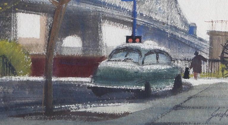 Lower East Side - Art by Joseph Barber