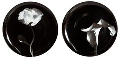 Robert Mapplethorpe, Pair of Porcelain Plates
