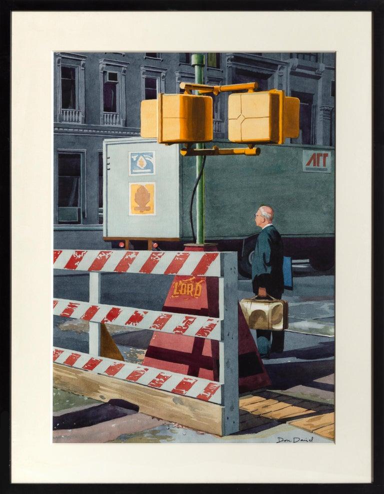 Don David Landscape Art - Crosswalk, New York City
