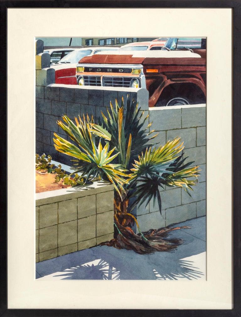 Don David Landscape Art - Palm Tree, New York City