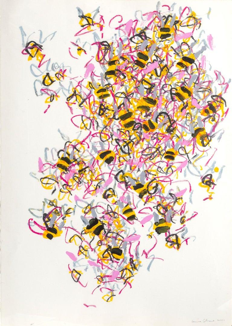 Louisa Chase Abstract Drawing - Bees