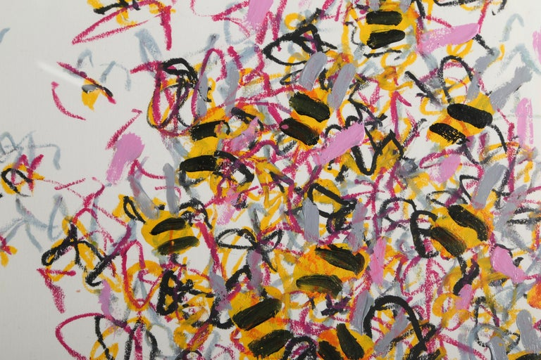 Bees - Art by Louisa Chase