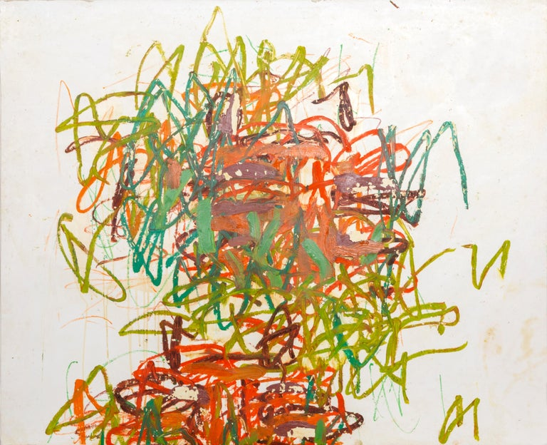 Artist: Louisa Chase, American (1951 - 2016) Title: Tyger Tyger #3 Year: 2002 Medium: Acrylic and Oil Pastel on paper, signed and dated in pencil, titled verso Size: 28 x 34 in. (71.12 x 86.36 cm)