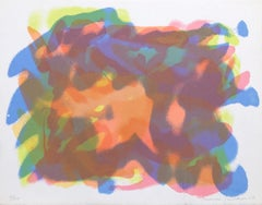 Juniasha, Colorful Abstract from New York 10, Lawrence Stafford 1969