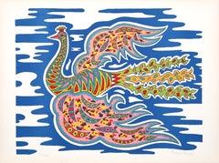 Flying Peacock I