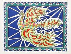 Flying Peacock II