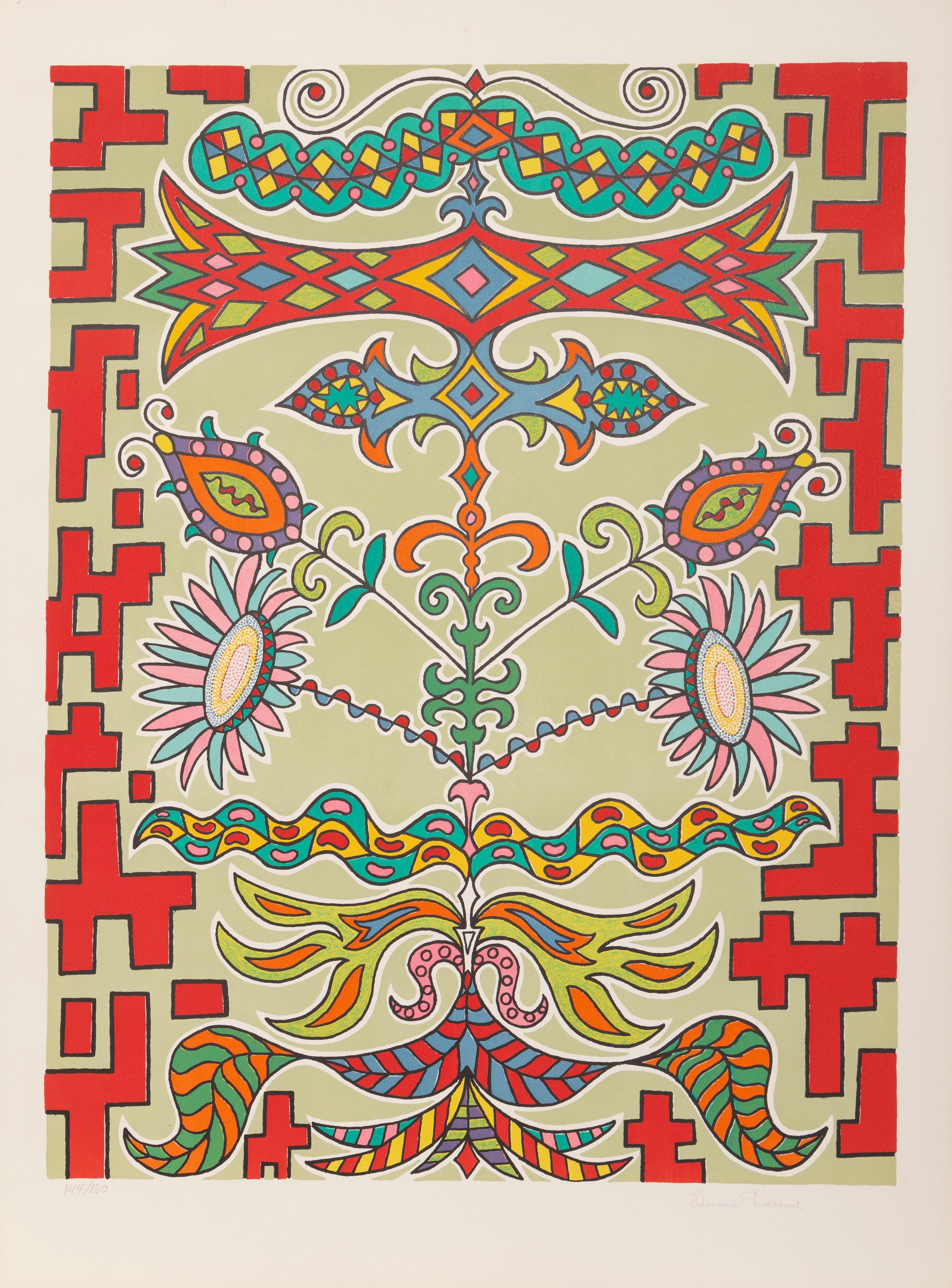 Flowers on Pattern