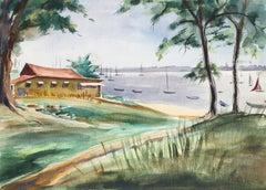 """Eve Nethercott, """"Barile"""", New England Landscape"""