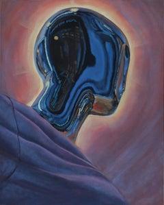 The Light has come II original figurative painting