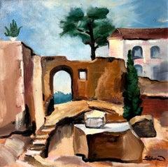 Tuscany study original landscape painting