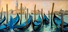 Venice city  landscape painting