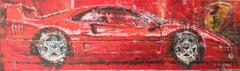 Ferrari 250 GTO original abstract classic car painting