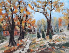 Autumn  original landscape painting