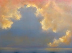 Glorious You abstract original sky painting - Contemporary Art