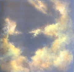 Just for one day original sky painting - Contemporary Art
