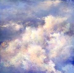 I keep having dreams original sky painting - Contemporary Art