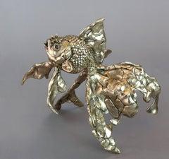 Goldfish- bronze sculpture- limited edition- Modern- Contemporary