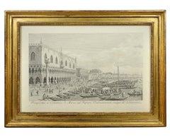 Antonio Visentini, Twelve Views of Venice, Engravings after Canaletto, 1790