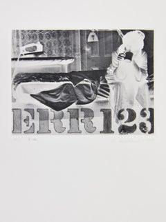 Robert Indiana, Err, from The International Avant-Garde, 1964