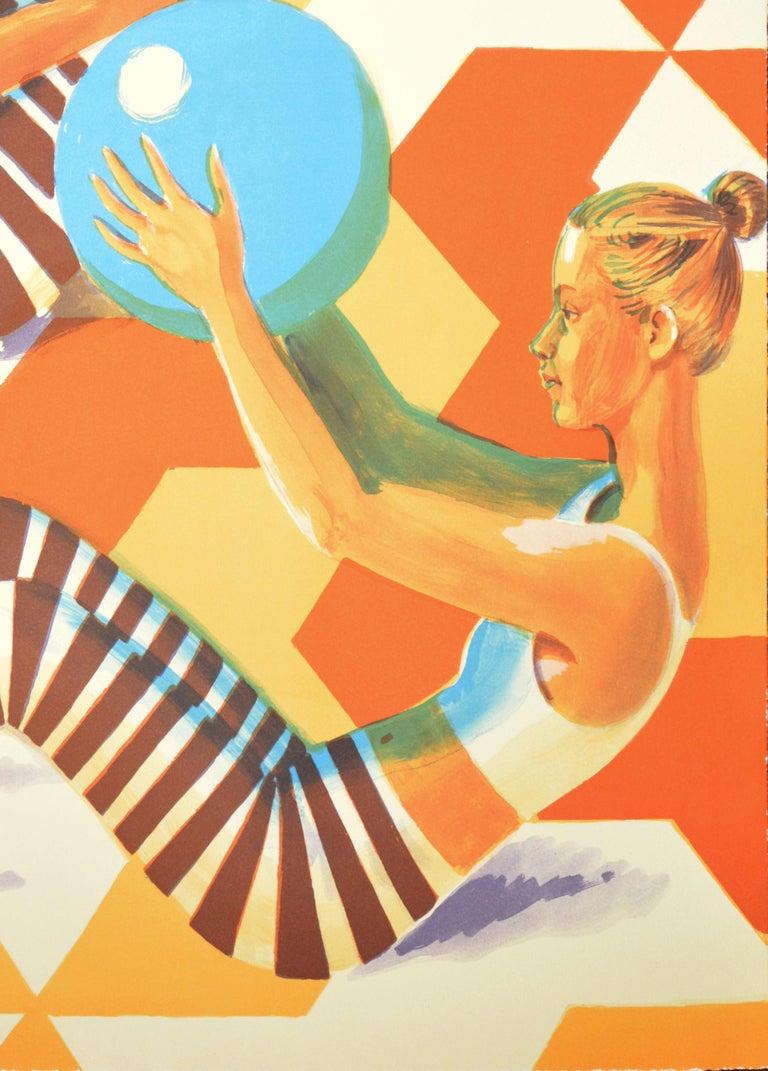 Senior, Ball Games, Lithograph, 2019 - Print by Benjamin Senior