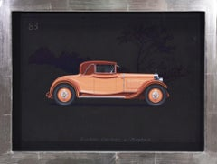 Roadster Cabriolet coachwork design by Alexis Kellner AG for the Maybach Type 12