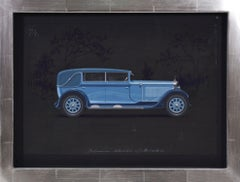 Pullman Cabriolet coachwork design by Alexis Kellner AG for the Mercedes Typ Man