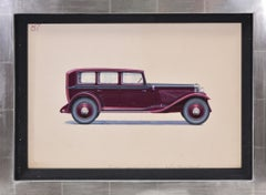 Pullman Limousine coachwork design by Alexis Kellner AG for the Maybach Type 12.