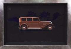 Pullman Limousine coachwork design by Alexis Kellner AG for the Adler Standard 8