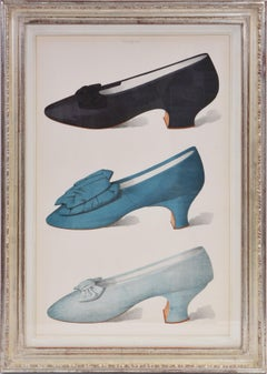 GREIG, A Group of Six Ladies' Dress Shoes of the Nineteenth Century.