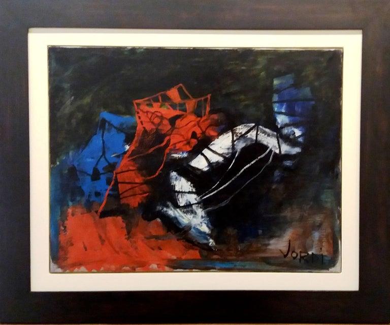JORDI MERCADÉ Abstract Painting - color III- original abstract acrylic canvas paiting