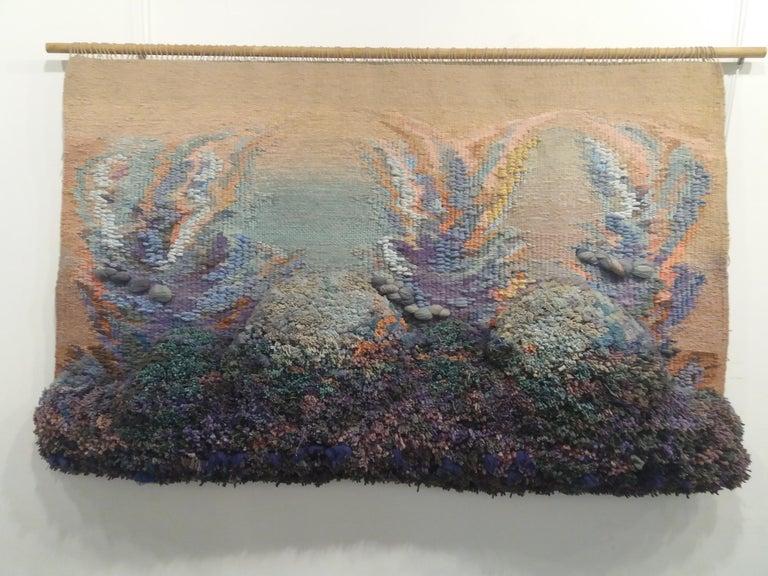 Happy world. Original tapestry - Art by Maria Asuncion Raventos